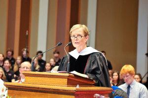 Kathe Rhinesmith, former Chair of the Ohio Wesleyan University Board of Trustees