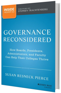 Governance Reconsidered - Susan Resneck Pierce
